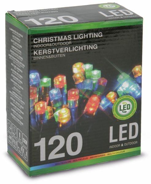 LED-Lichterkette, 120 LEDs, bunt, 230V~, IP44, Innen/Außen - Produktbild 4