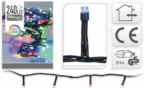 LED-Lichterkette, 240 LEDs, bunt, 230V~, IP44, Innen/Außen - Produktbild 4
