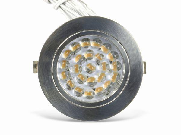 LED-Einbauleuchten-Set ILUFA 268133, EEK: A++, 1,8 W, 110 lm, 3000 k, 3 St. - Produktbild 1