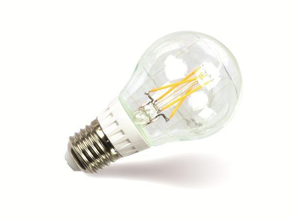 LED-Lampe DAYLITE F-E27-500WW, E 27, EEK: A+, 5,5 W, 500 lm, 2800 k, Birne - Produktbild 1