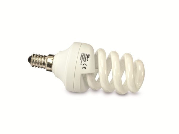 E14-Energiesparlampe XQ-LITE, 550 lm, 2700K, 11 W, 3 Stück
