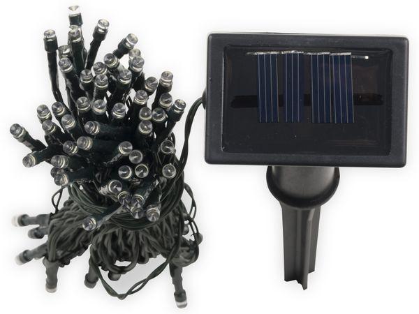 Solar-Lichterkette, 50 LEDs, kaltweiß