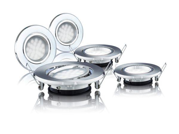 LED-Einbauleuchten DAYLITE LES-87G-180WW/5, EEK: A++, 1,8 W, 180 lm - Produktbild 1
