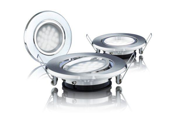 LED-Einbauleuchten DAYLITE LES-87G-190NW/3, EEK: A++, 1,8 W, 190 lm - Produktbild 1
