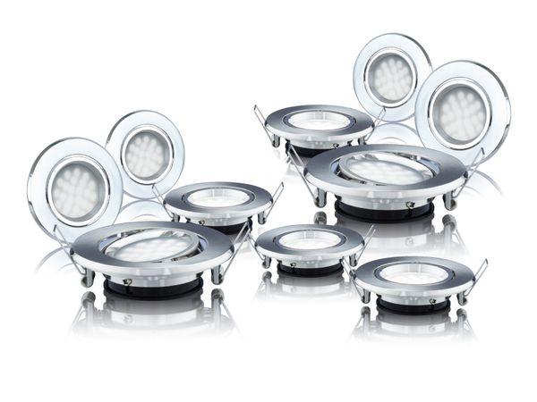LED-Einbauleuchten DAYLITE LES-87G-200KW/10, EEK: A++, 1,8 W, 200 lm - Produktbild 1