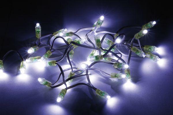 LED-Lichterkette mit 50 LEDs, 3 m, 5 V-, 5 W, 6000 K, B-Ware - Produktbild 1