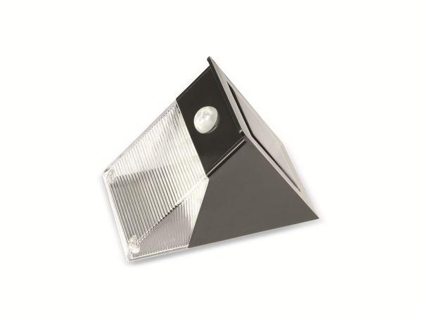 LED-Solar-Wandleuchte mit Bewegungssensor, B-Ware - Produktbild 1