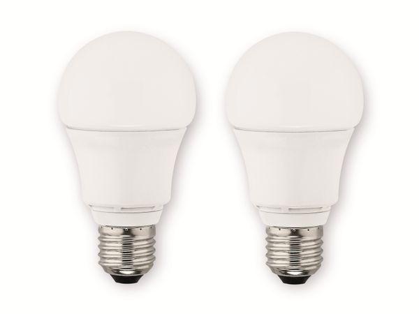 LED-Lampe MÜLLER-LICHT, E27, EEK: A+, 9 W, 810 lm, 2700 K, 2 Stück
