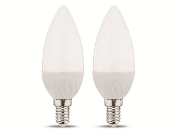 LED-Lampe MÜLLER-LICHT, E14, EEK: A+, 3 W, 245 lm, 2700 K, 2 Stück
