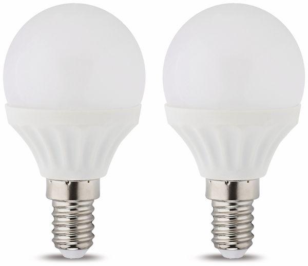 LED-Lampe MÜLLER-LICHT, E14, EEK: A+, 3 W, 250 lm, 2700 K, 2 Stück