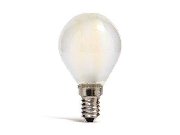 LED-Lampe MÜLLER-LICHT, E14, EEK: F, 2,2 W, 250 lm, 2700 K, matt
