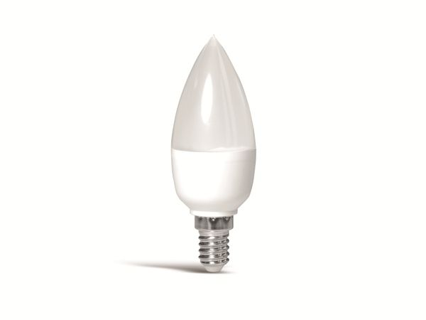 LED-Lampe MÜLLER-LICHT, E14, EEK: F, 5,5 W, 470 lm, 2700 K