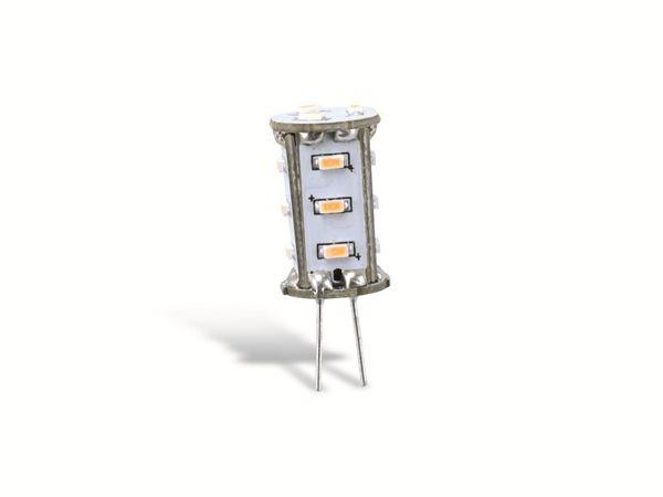 LED-Stiftsockellampe GOOBAY 30359, G4, EEK: A+, 1,3 W, 2700 K - Produktbild 1
