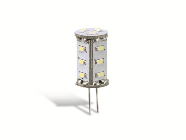 LED-Stiftsockellampe GOOBAY 30360, G4, EEK: A++, 1,3 W, 6200 K - Produktbild 1