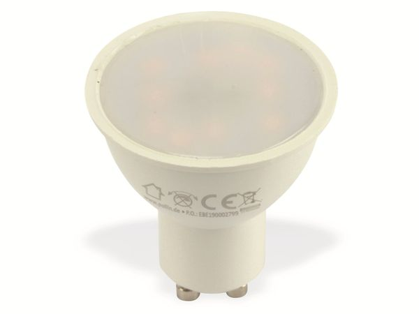 LED-Lampe DAYLITE GU10-M400WW, EEK: A+, 5 W, 400 lm, 3000 K, 5 Stück - Produktbild 1