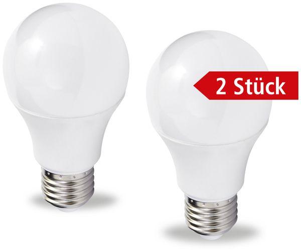 LED-Lampe MÜLLER-LICHT, E27, EEK: A+, 5,5 W, 470 lm, 2700 K, 2 Stück