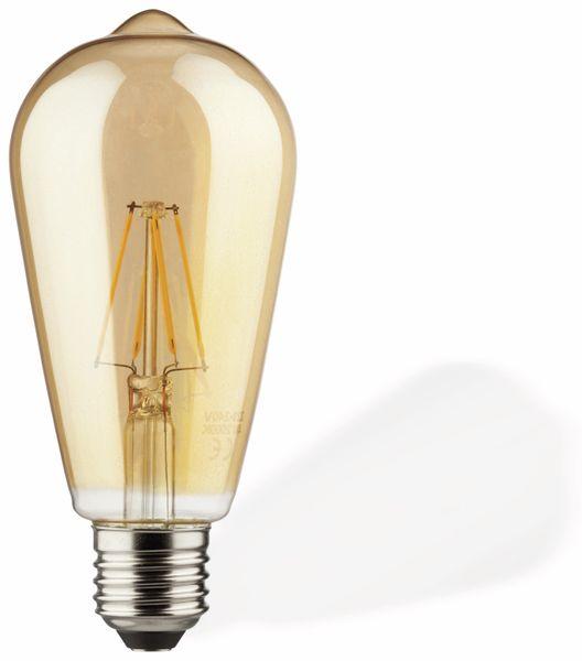 LED-Lampe Müller-Licht 400208, E27, EEK: A++, 6,5 W, 690 lm, dimmbar, gold