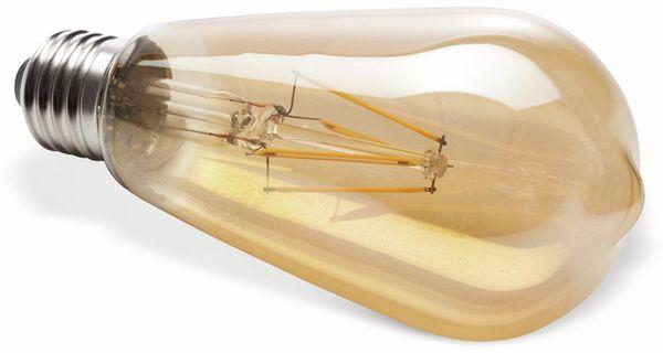 LED-Lampe Müller-Licht 400208, E27, EEK: A++, 6,5 W, 690 lm, dimmbar, gold - Produktbild 2