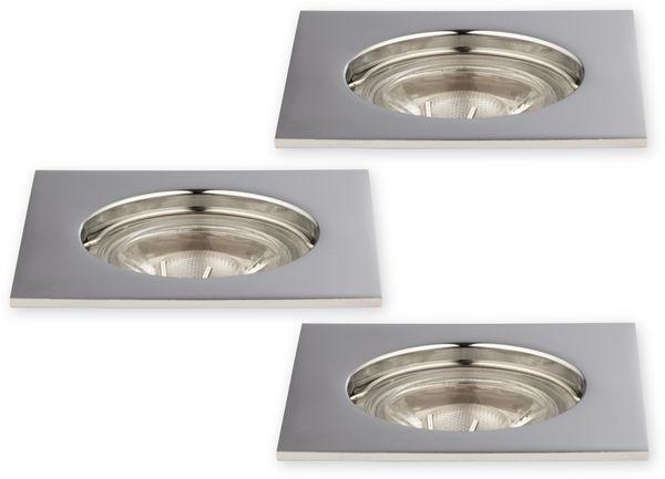 LED-Einbauleuchte MÜLLER-LICHT 21520009, EEK: A+, 5 W, 300 lm, chrom, 3 St. - Produktbild 1