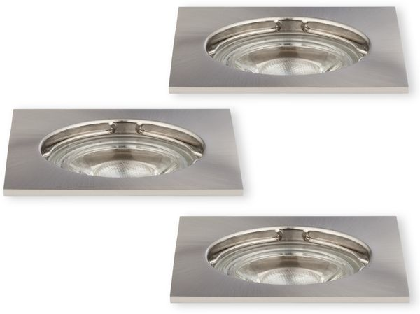 LED-Einbauleuchte Müller-Licht 21520010, EEK: A+, 5W, 300lm, satin, 3St. - Produktbild 1