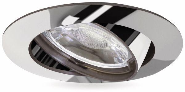 LED-Einbauleuchte Müller-Licht 21520014, EEK: A+, 5W, 300lm, 2700K, chrom - Produktbild 1