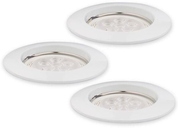 LED-Einbauleuchte Müller-Licht 21530001, EEK: 7W, 400lm, 2700K, weiß, 3 St - Produktbild 1