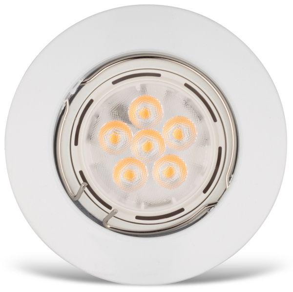 LED-Einbauleuchte Müller-Licht 21530001, EEK: 7W, 400lm, 2700K, weiß, 3 St - Produktbild 2