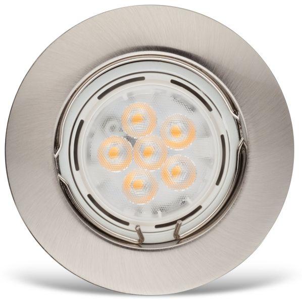 LED-Einbauleuchte Müller-Licht 21530002, EEK: A, 7W, 400lm, 2700K, satin - Produktbild 2