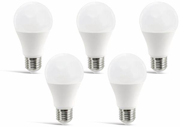 LED-Lampe DAYLITE A60-E27-810KW, E27, EEK: A+, 9 W, 810 lm, 6500 K, 5 Stück