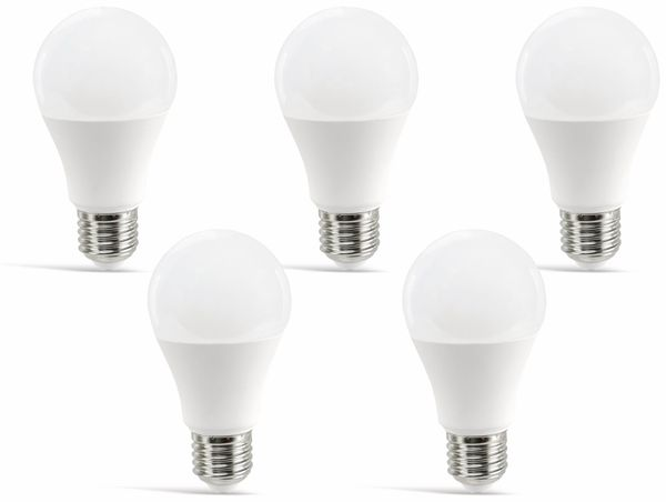 LED-Lampe DAYLITE A60-E27-806WW, E27, EEK: A+, 9 W, 806 lm, 2700 K, 5 Stück