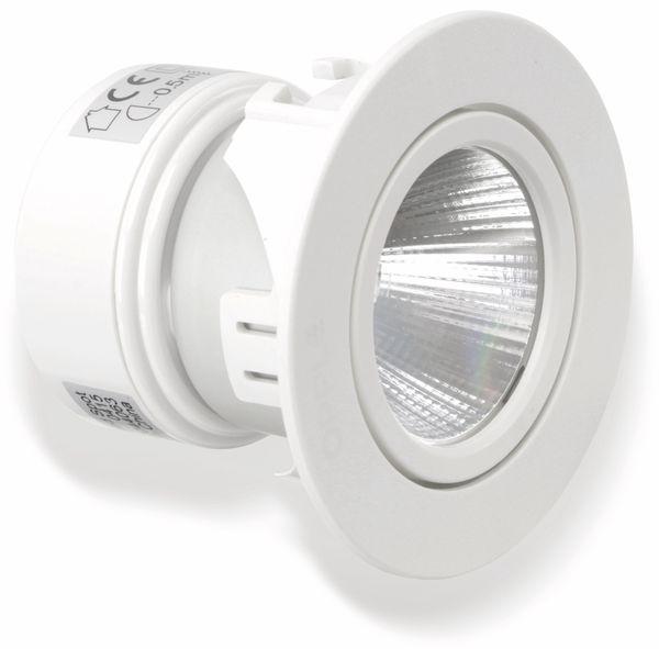 LED Einbauspot OPPLE Chalice, EEK: A, 4,5 W, 250 lm, 2700 K, weiß - Produktbild 4