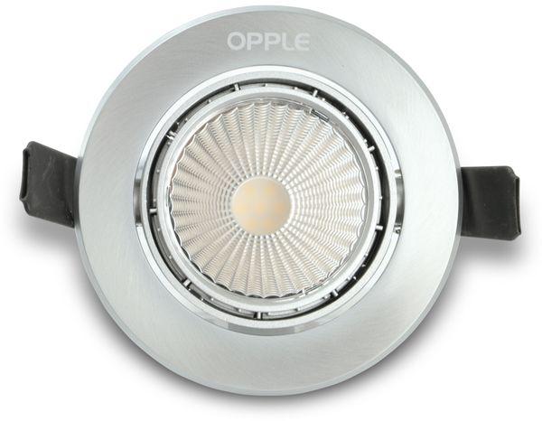 LED-Deckeneinbauspot OPPLE 140044080, EEK: A, 7 W, 420 lm, 3000 K - Produktbild 1