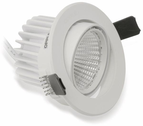 LED-Deckeneinbauspot OPPLE 140044098, EEK: A, 7 W, 580 lm, 4000 K, weiß - Produktbild 1