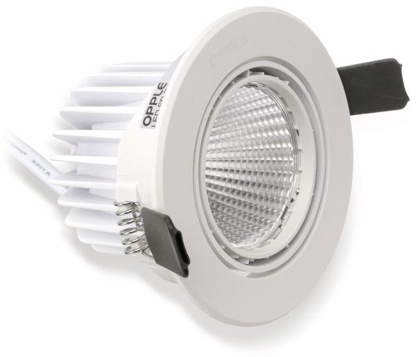 LED-Deckeneinbauspot OPPLE 140044098, EEK: A, 7 W, 580 lm, 4000 K, weiß - Produktbild 2