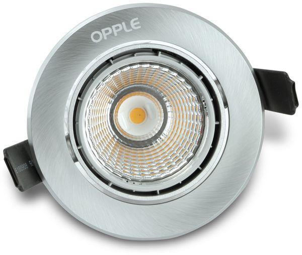 LED-Deckeneinbauspot OPPLE 140044102, EEK: A, 9,5 W, 600 lm, 3000 K - Produktbild 1
