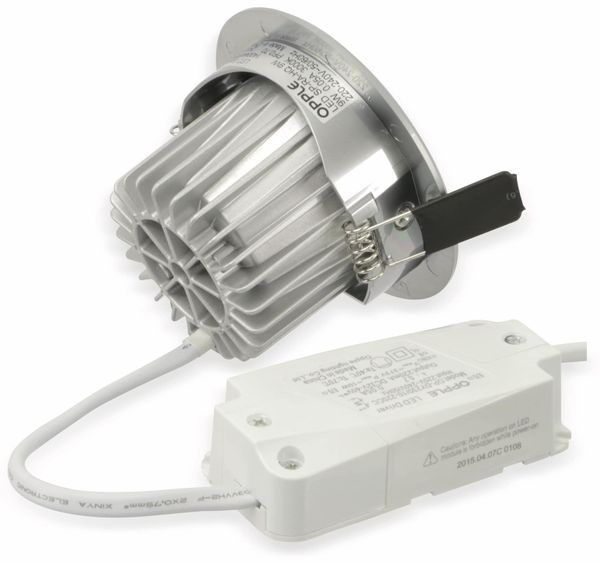 LED-Deckeneinbauspot OPPLE 140044103, EEK: A, 9 W, 600 lm, 3000 K - Produktbild 5