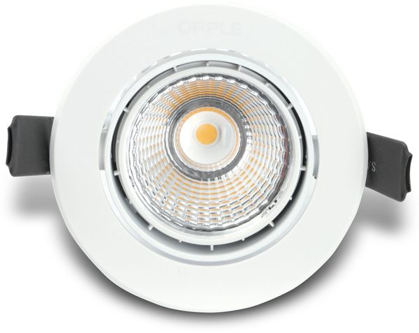 LED-Deckeneinbauspot OPPLE 140044118, EEK: A, 9,5 W, 600 lm, 3000 K - Produktbild 1