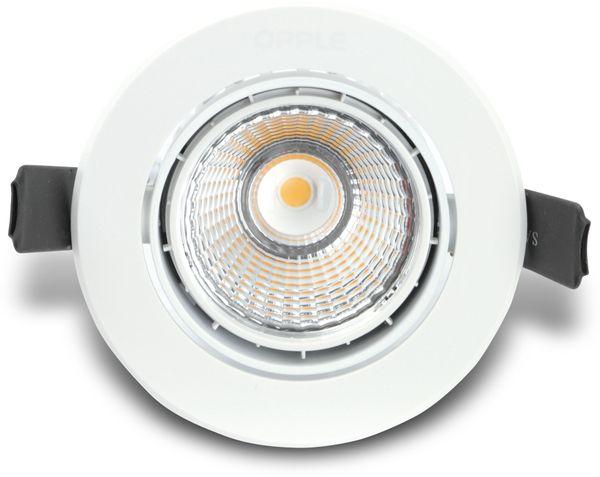 LED-Deckeneinbauspot OPPLE 140044118, EEK: A, 9,5 W, 600 lm, 3000 K