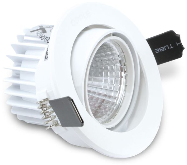 LED-Deckeneinbauspot OPPLE 140044122, EEK:A, 9,5 W, 640 lm, 4000 K, weiß - Produktbild 2