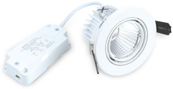 LED-Deckeneinbauspot OPPLE 140044122, EEK:A, 9,5 W, 640 lm, 4000 K, weiß - Produktbild 3