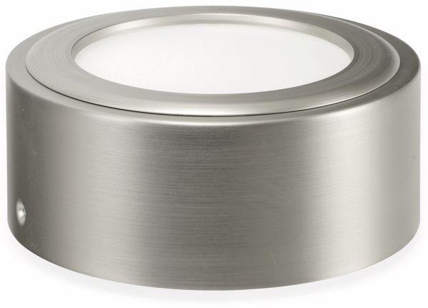 LED-Deckenleuchte OPPLE Doris, EEK: A, 8 W, 600 lm, 2700 K, Edelstahloptik - Produktbild 2