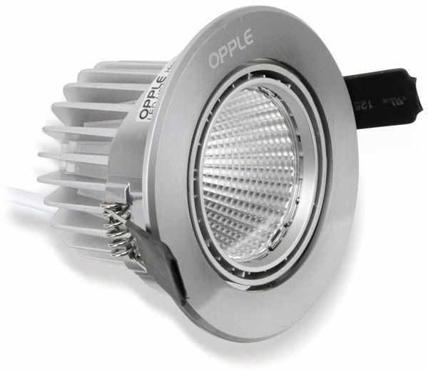 LED-Deckeneinbauspot OPPLE Carol 140044196, EEK: A, 4,5 W, 250 lm, 2700 K - Produktbild 1