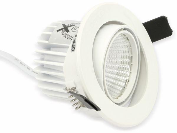 LED-Deckeneinbauspot OPPLE Carol 140044200, EEK: A, 4,5 W, 420 lm, 2700 K