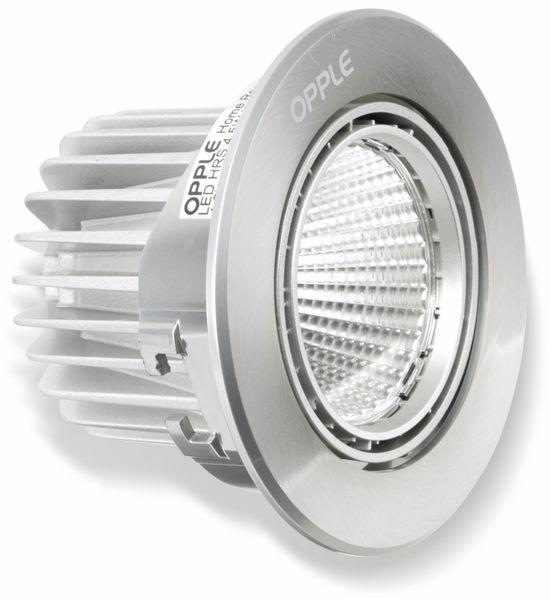 LED-Deckeneinbauspot OPPLE Carol 140044201, EEK: A, 7,5 W, 420 lm, 2700 K - Produktbild 2