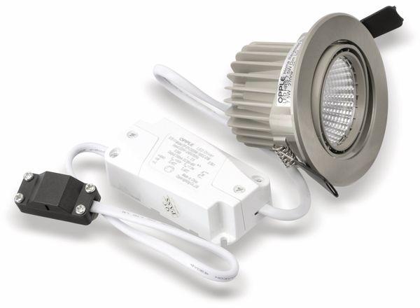 LED-Deckeneinbauspot OPPLE Carol 140044202, EEK: A, 7,5 W, 420 lm, 2700 K