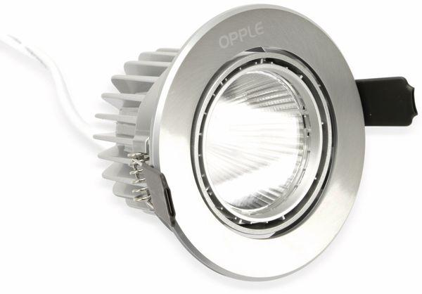 LED-Deckeneinbauspot OPPLE 140044413, EEK: A, 7 W, 400 lm, 2700 K - Produktbild 1