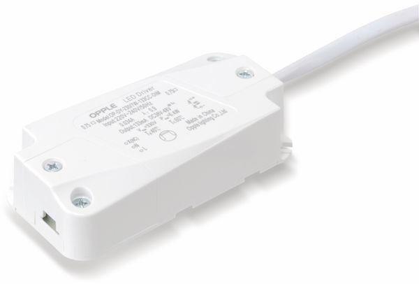 LED-Deckeneinbauspot OPPLE 140044422, EEK: A, 7 W, 400 lm, 2700 K, weiß - Produktbild 8
