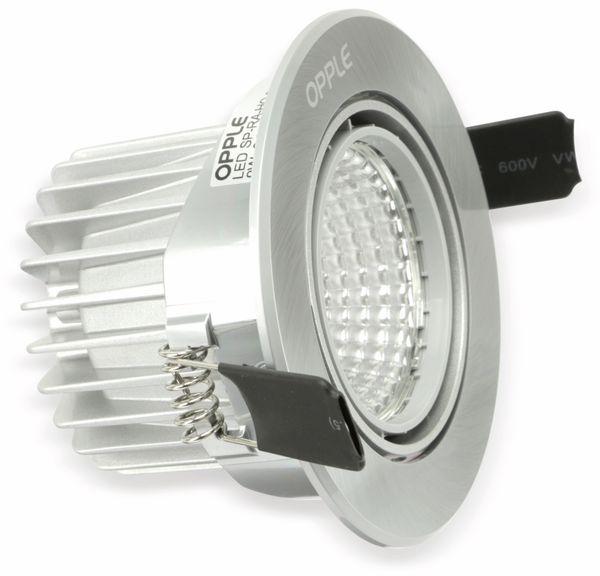 LED-Deckeneinbauspot OPPLE 140044424, EEK: A, 9 W, 580 lm, 2700 K - Produktbild 4