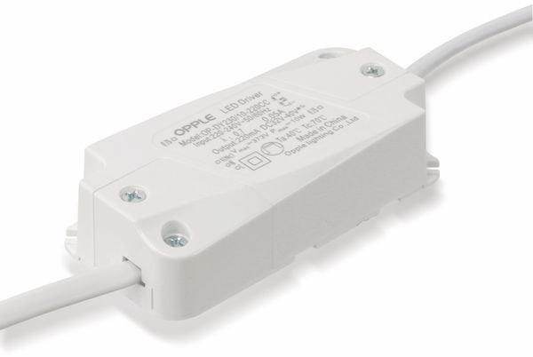 LED-Deckeneinbauspot OPPLE 140044434, EEK: A, 9,5 W, 580 lm, 2700 K, weiß - Produktbild 8