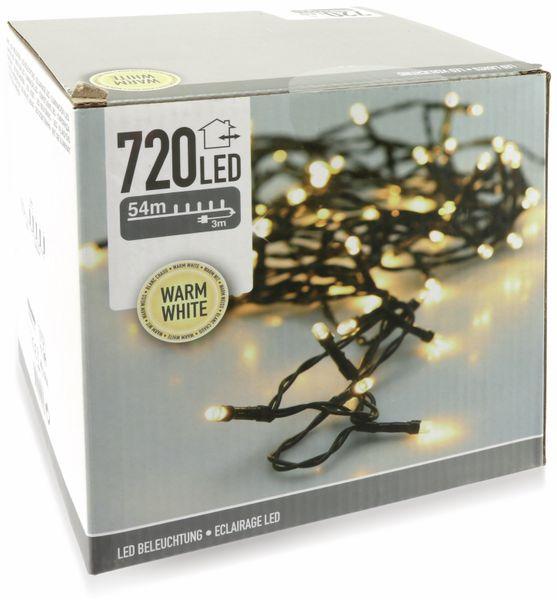 LED-Lichterkette, 720 LEDs, warmweiß, 230V~, IP44, Innen/Außen - Produktbild 2